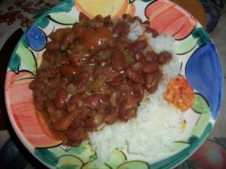Bruine Bonen – Suriname Style Red Bean Stew