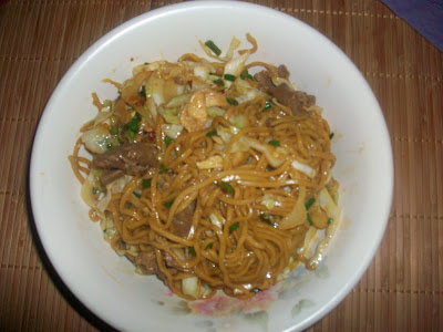 Homemade Lo Mein