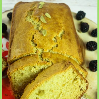 Finnish Cardamom Tea Cake