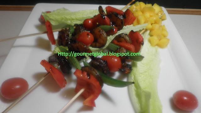 Asian Shrimp Kebab