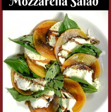Beet Mozzarella Salad