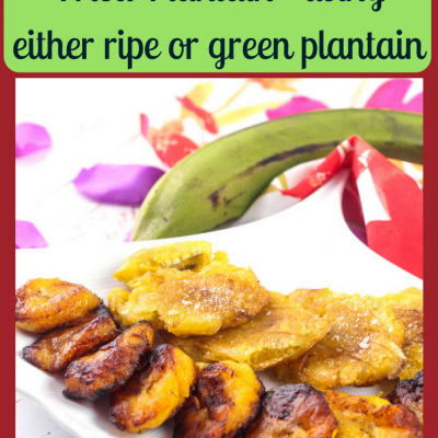 How to Fry Plantains – Making Fried Plantain