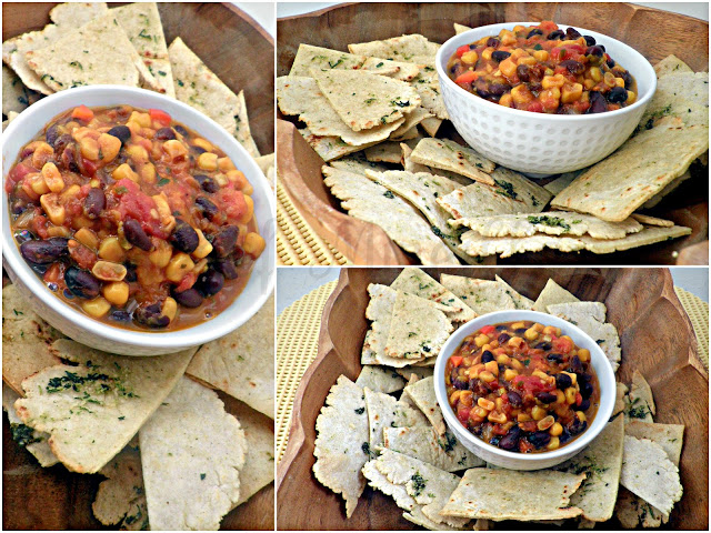 Homemade Tortilla Chips & Mango Salsa