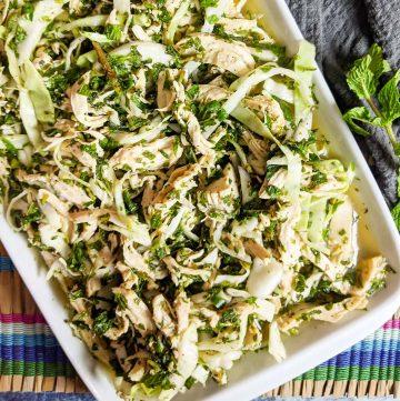 Vietnamese Chicken Salad - Ga Xe Phay recipe