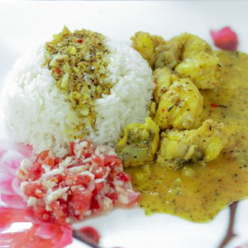 Malaysian Fish Curry Recipe