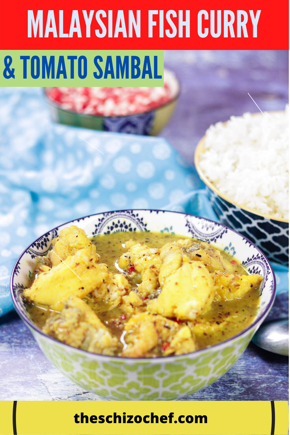 Malaysian Fish Curry for Pinterest