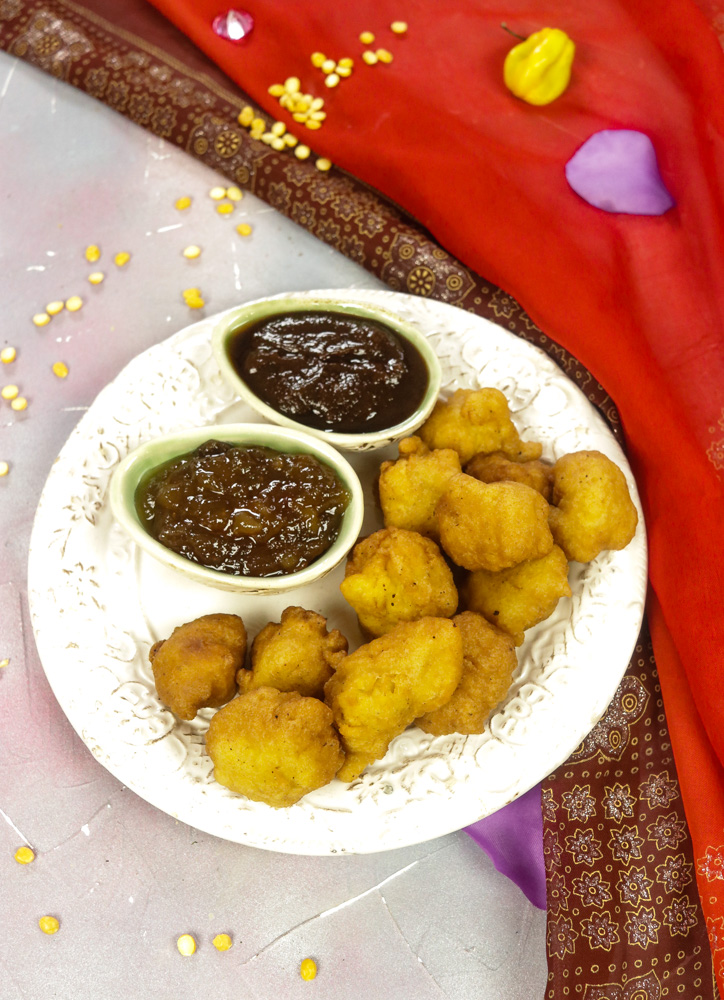Phulourie - Split Pea Fritters recipe