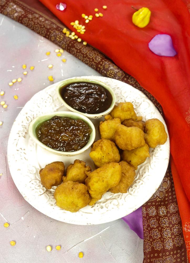 Phulourie - Split Pea Fritters recipe
