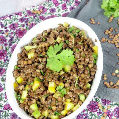 Azefa – Ethiopian Lentil Salad