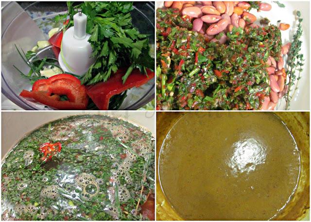How to make Haitian Red Beans - Sauce Pwa