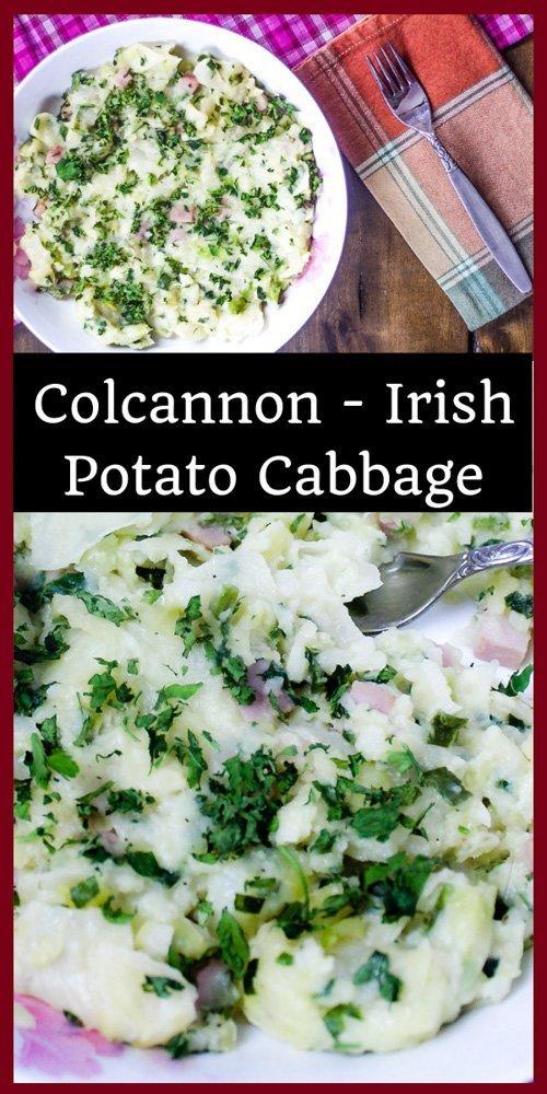Colcannon - Irish Potato Cabbage