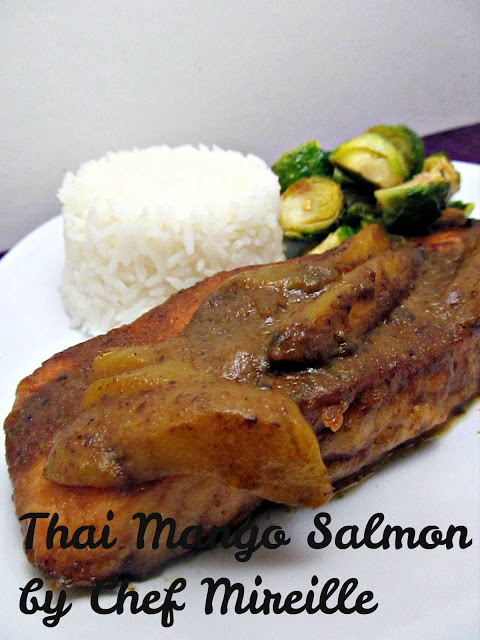 Thai Red Curry Salmon