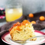 Upside Down Kumquat Lavender Cake recipe