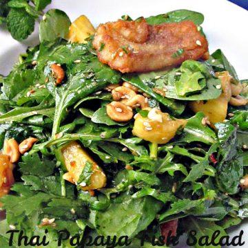Thai Papaya Fish Salad
