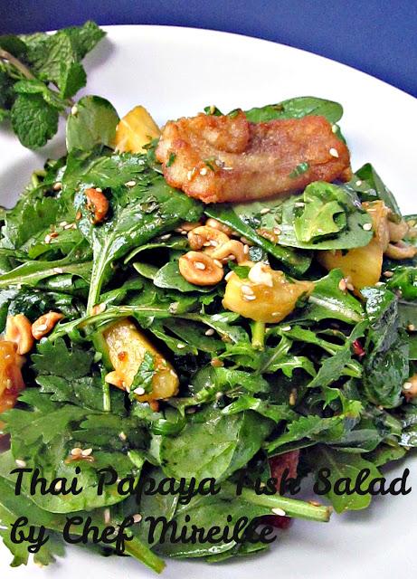 Papaya Fish Salad