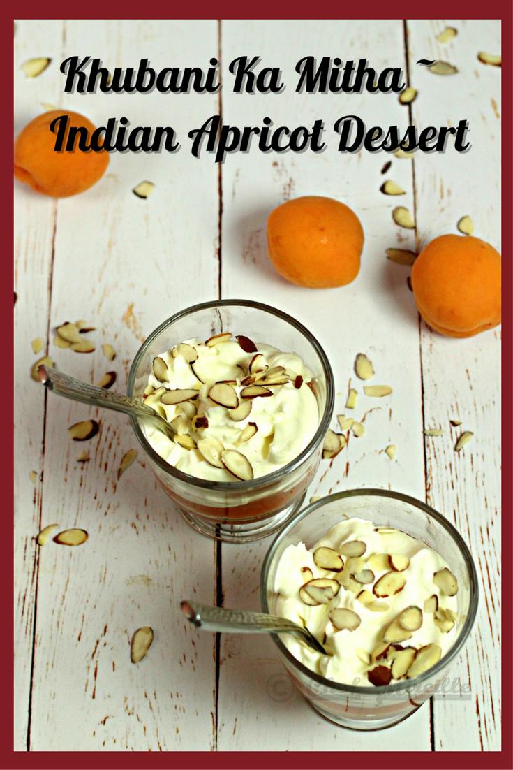 Khubani Ka MItha - Hyderabadi Apricot Dessert