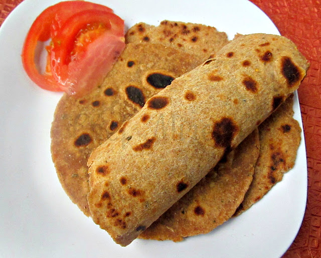 Paratha - Indian Whole Wheat Flatbread
