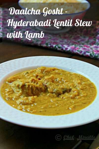 Hyderabadi Lamb & Dal Curry - Daalcha Gosht