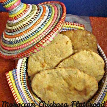 Moroccan Chickpea Flatbread