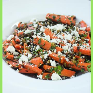 Carrot Mung Bean Salad