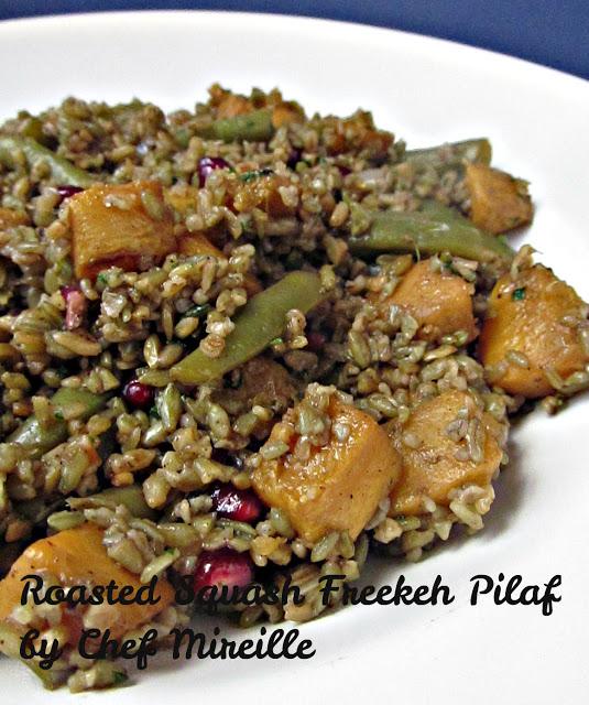 Green Wheat Pilaf