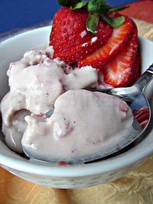 Hibiscus Ice Cream