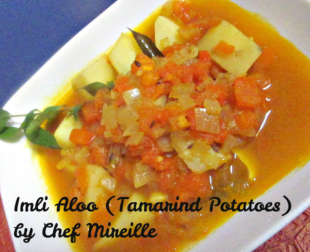 Tamarind Potatoes