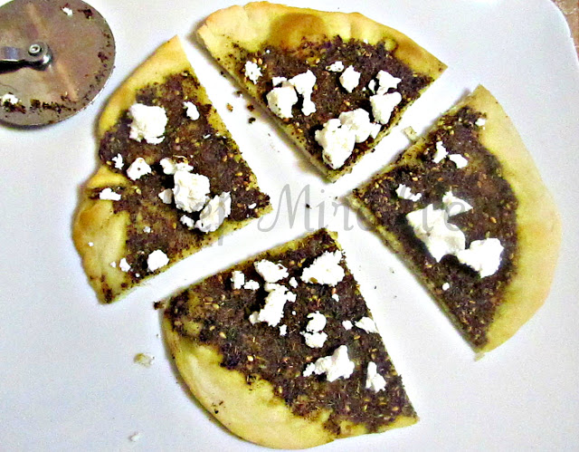 Lebanese Za'atar Bread