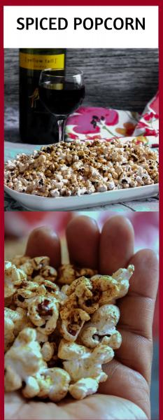 Spiced Party Popcorn
