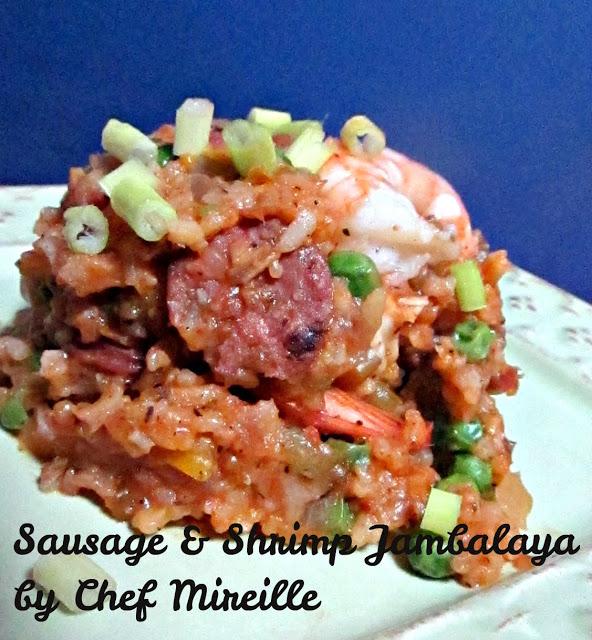 Sausage & Shrimp Jambalaya