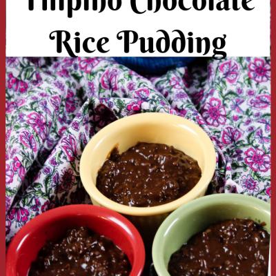 Champorado – Filipino Chocolate Rice Pudding