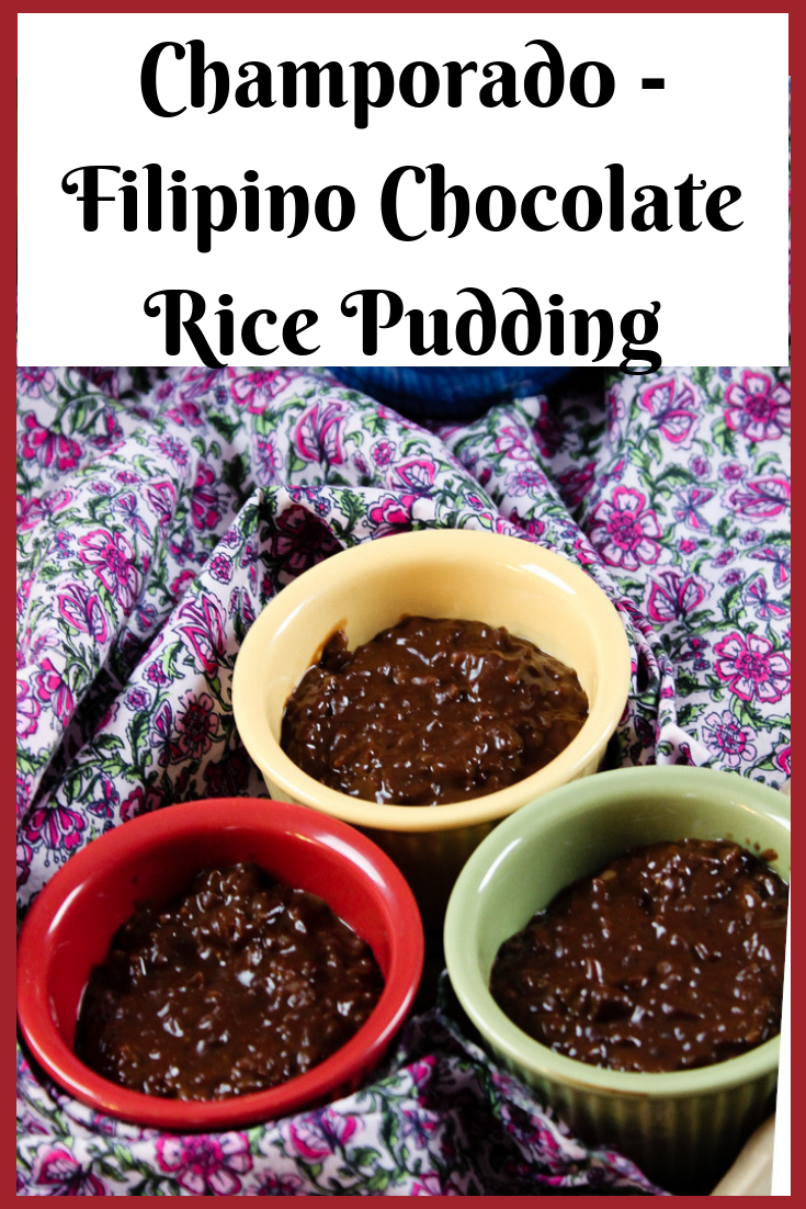 Champorado - Filipino Chocolate Rice Pudding
