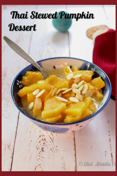 Thai Stewed Pumpkin Dessert