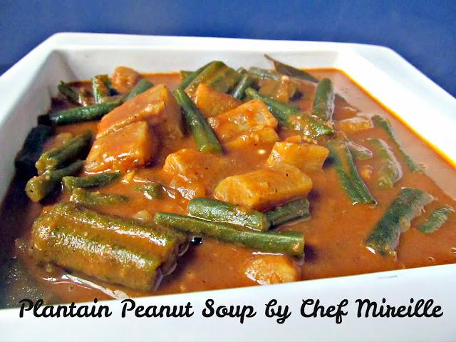 Plantain Peanut Soup