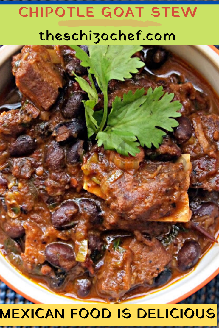 bowl of Mexican Goat Stew