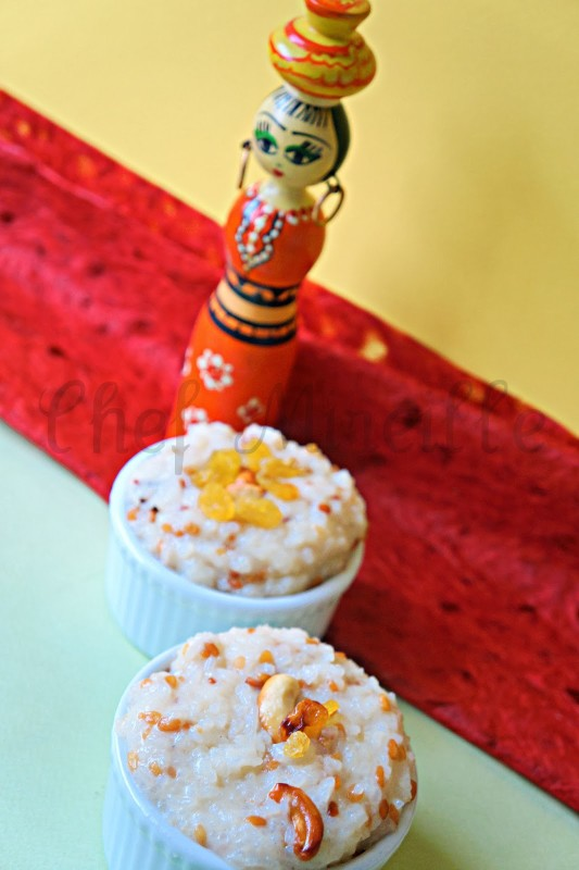 Indian Festival Rice Pudding