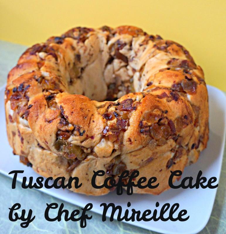 Tuscan coffee cake
