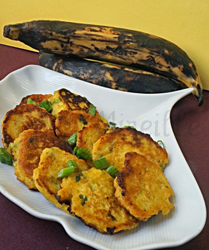 African Plantain Snack, African Street Food