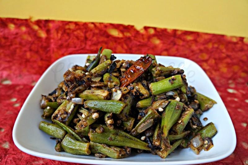 Indian Okra, Indian Okra Stir Fry