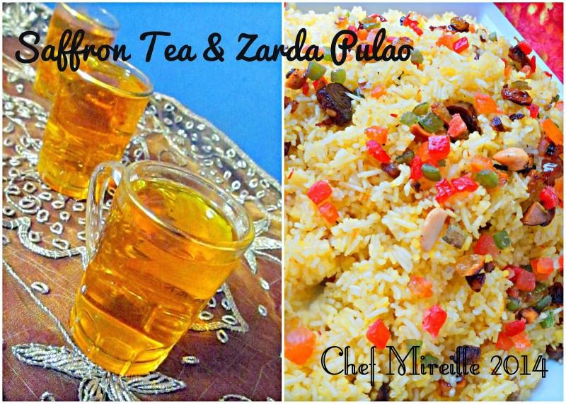 Saffron Rice, Zarda Pulao