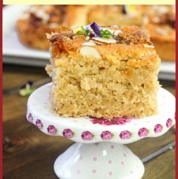 Baath - Goa Semolina Coconut Cake