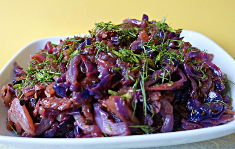 Red Cabbage, Fennel