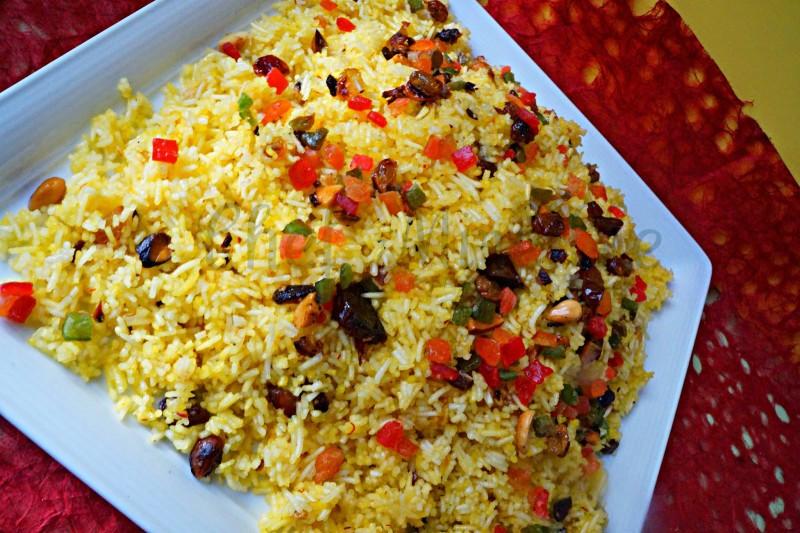 Dessert Rice, Kashmiri Rice, Kashmir Dessert