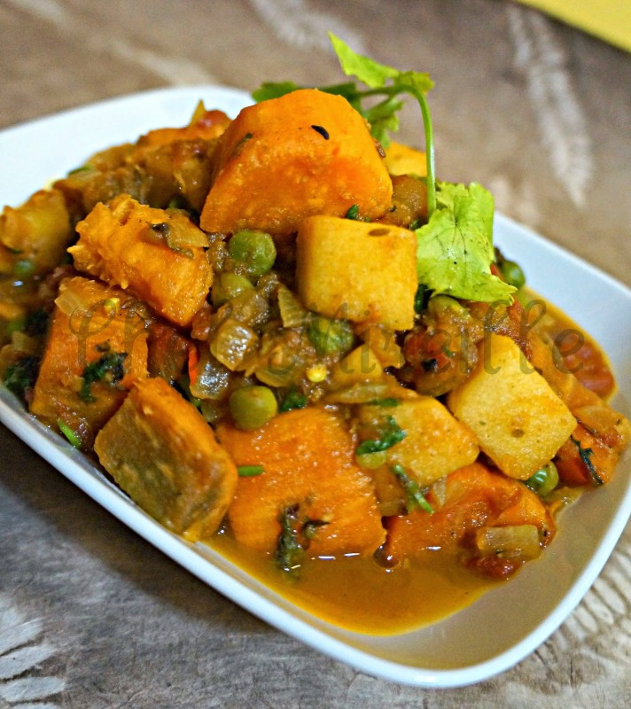 Apple Curry, Sweet Potato Curry
