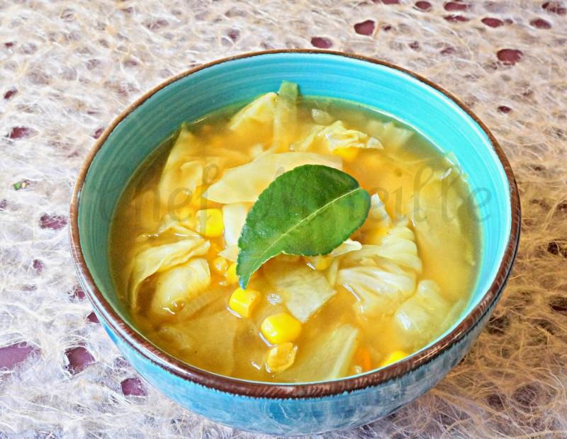 Cabbage Soup, Corn Soup