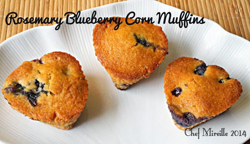 Blueberry Muffins, Corn Muffins