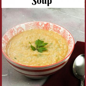 Celeriac Parsnip Soup