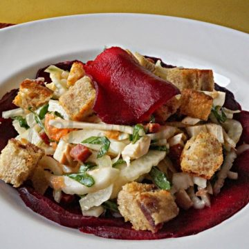 Fennel Grapefruit Salad with Beets