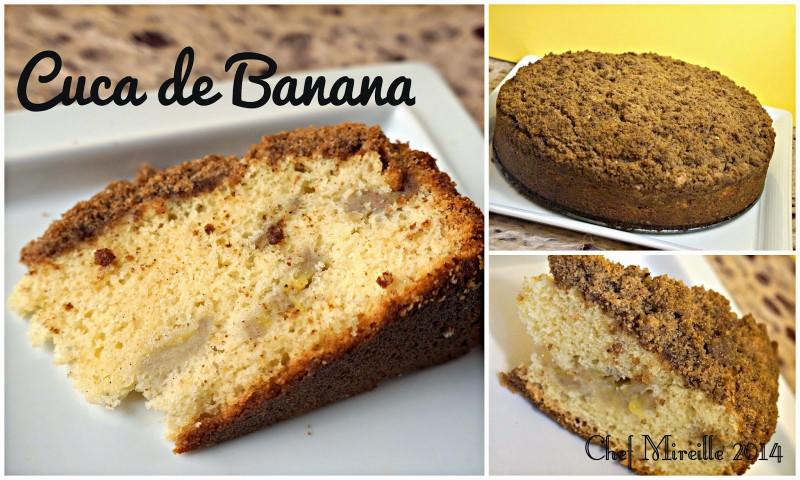 Cuca, Brazilian Coffee Cake