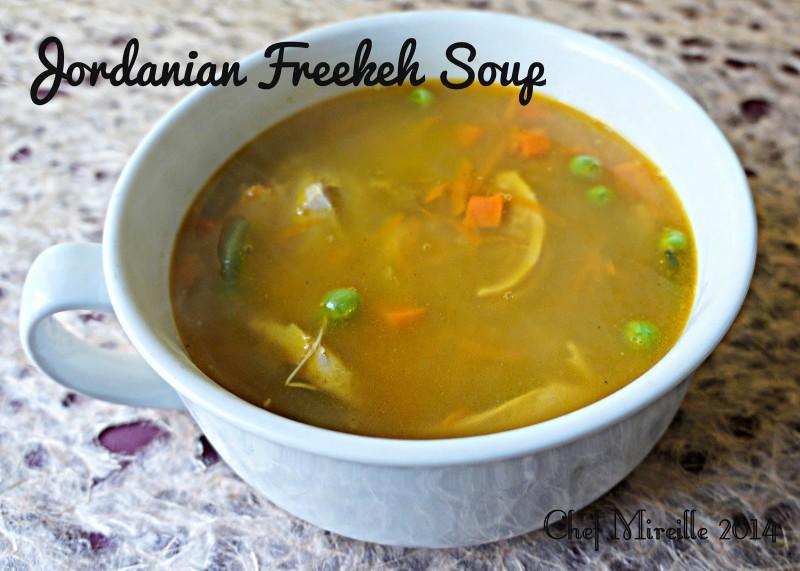 Jordanian Freekeh Soup